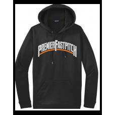 Sport-Tek® Sport-Wick® Fleece Hooded Pullover-Black
