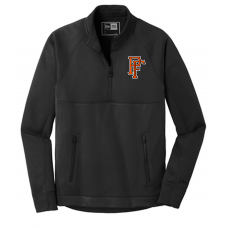 New Era ® Venue Fleece 1/4-Zip Pullover-Black