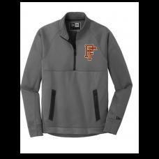 New Era ® Venue Fleece 1/4-Zip Pullover-Graphite