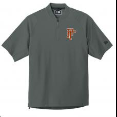 New Era® Cage Short Sleeve 1/4-Zip Jacket-Graphite