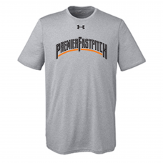 Under Armour Men's Locker T-Shirt 2.0- Grey