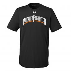 Under Armour Men's Locker T-Shirt 2.0- Black